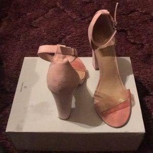 Forever 21 Pink One Strap Heels